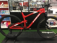 Pre-owned 2017 TREK Top Fuel 9 Dual Red White